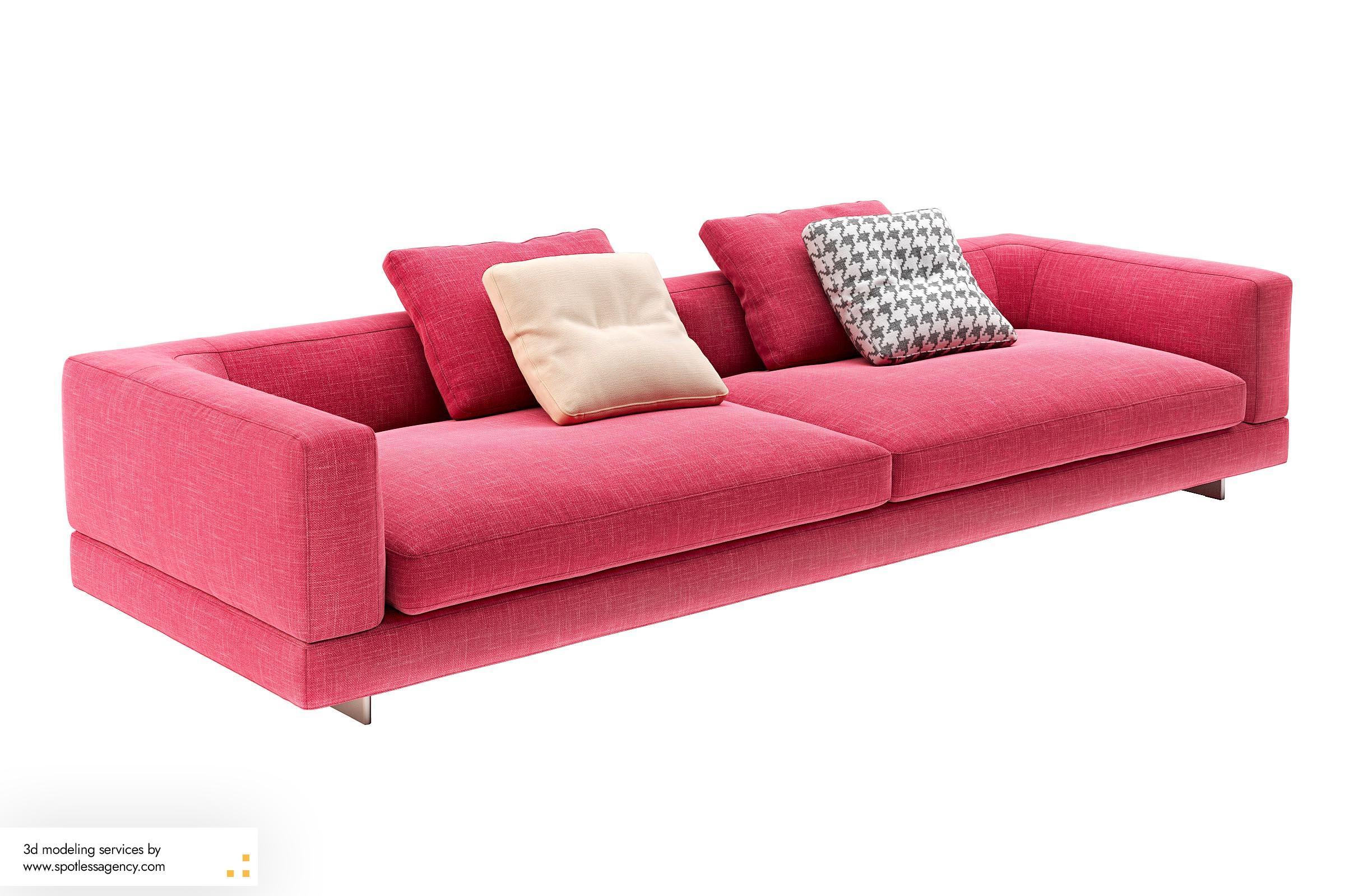 Sofa 3d Model 4