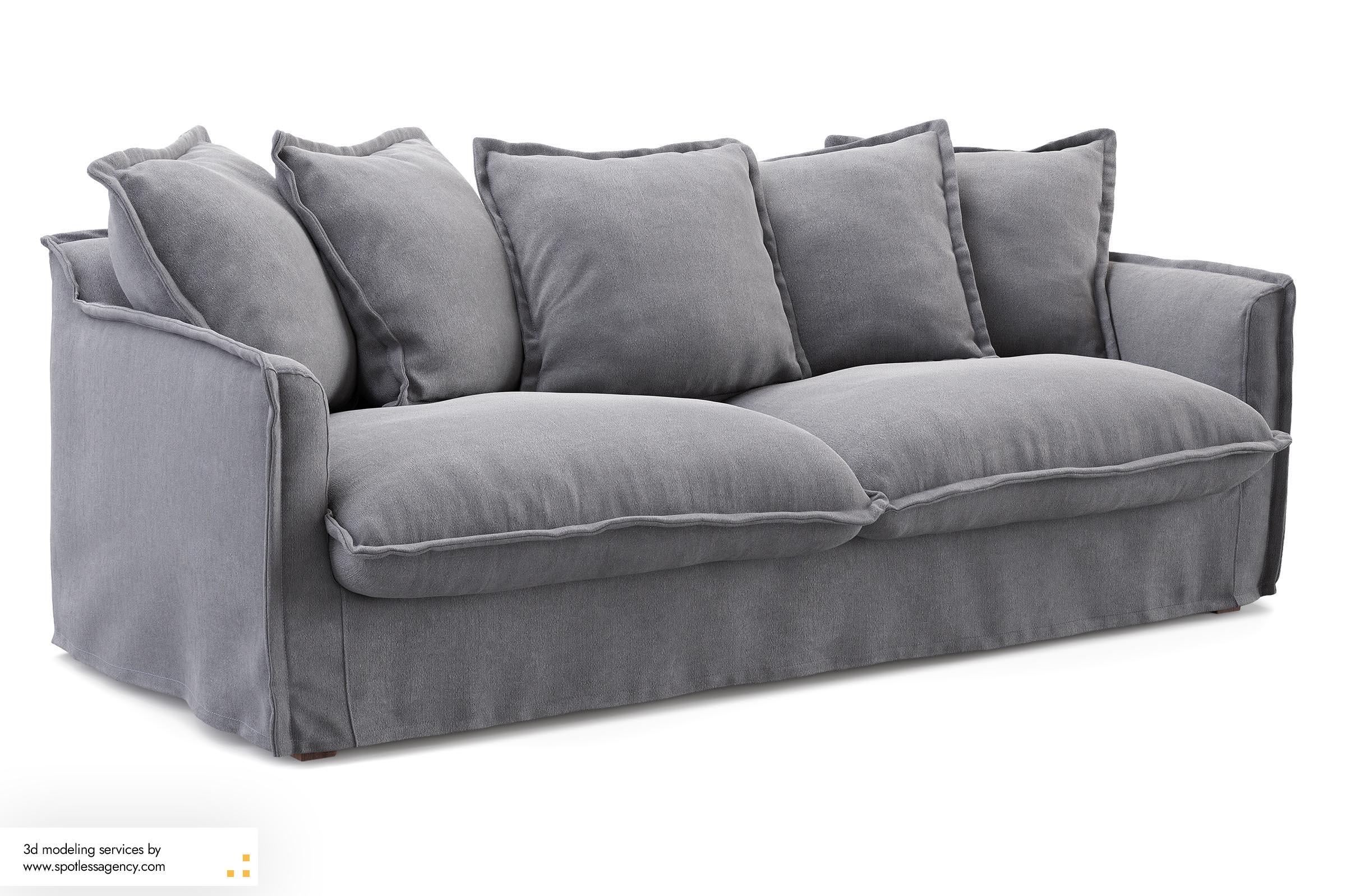 Sofa 3d Model 8