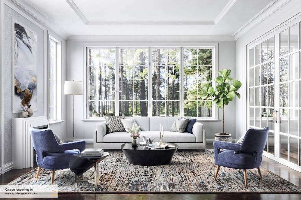 Carpet Catalog Renderings