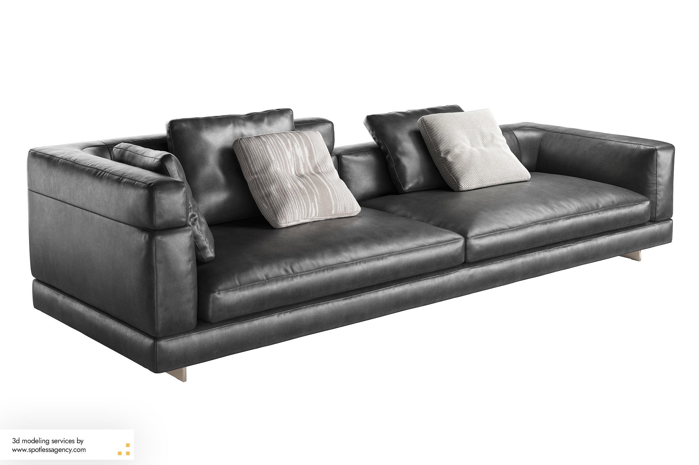 Sofa 3d Model 3