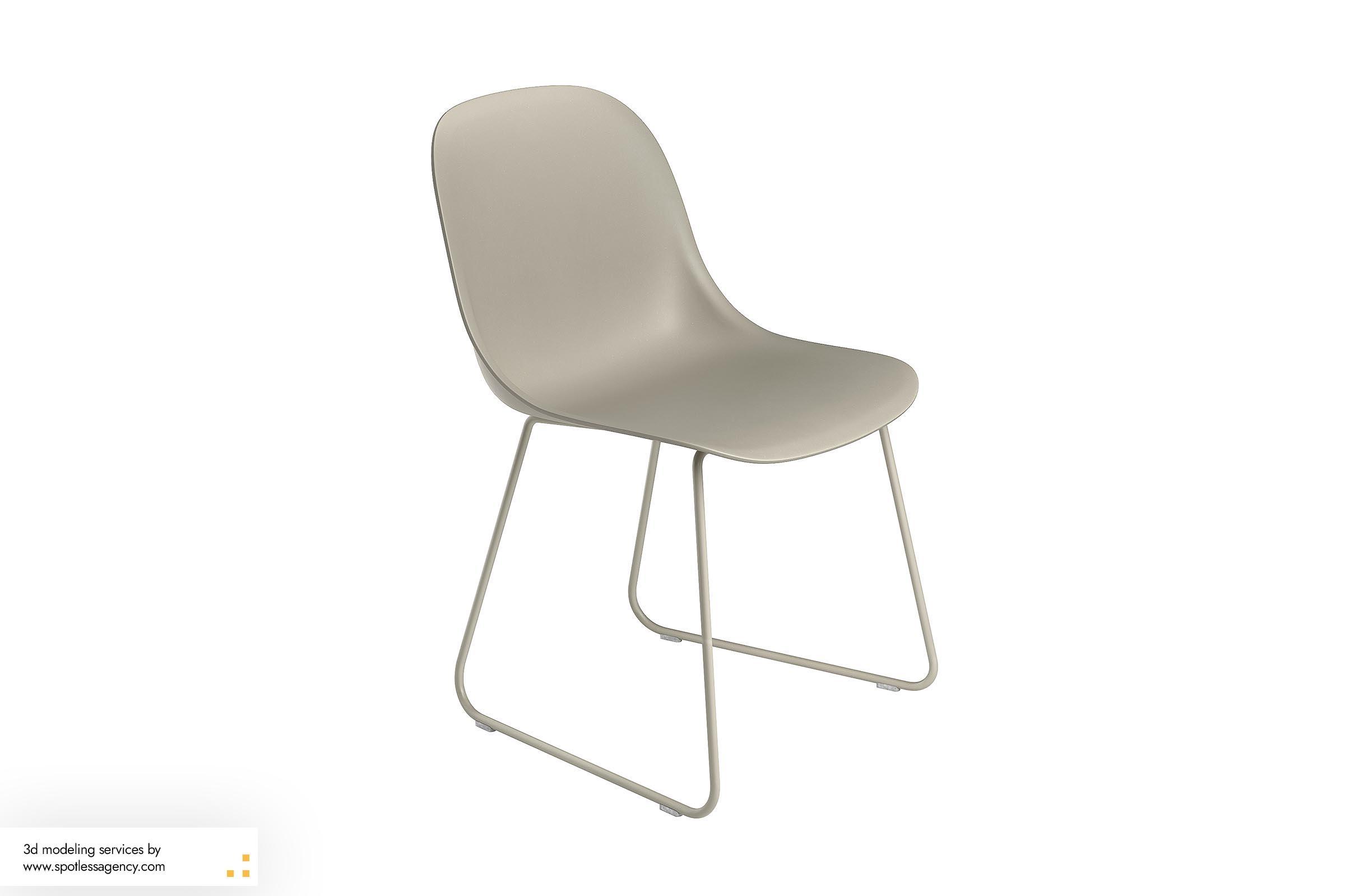 3d Model Chair 1