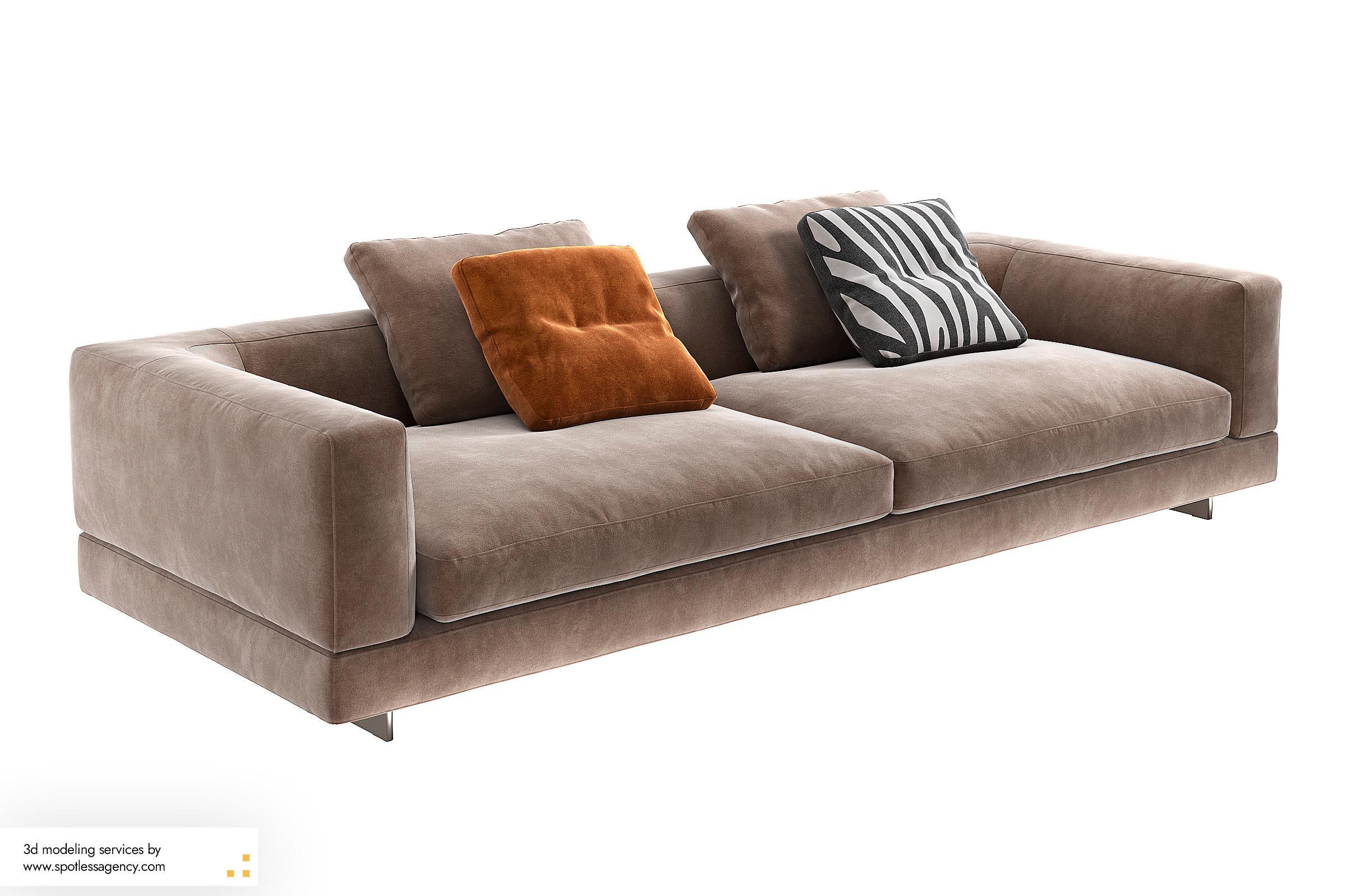 Sofa 3d Model 5