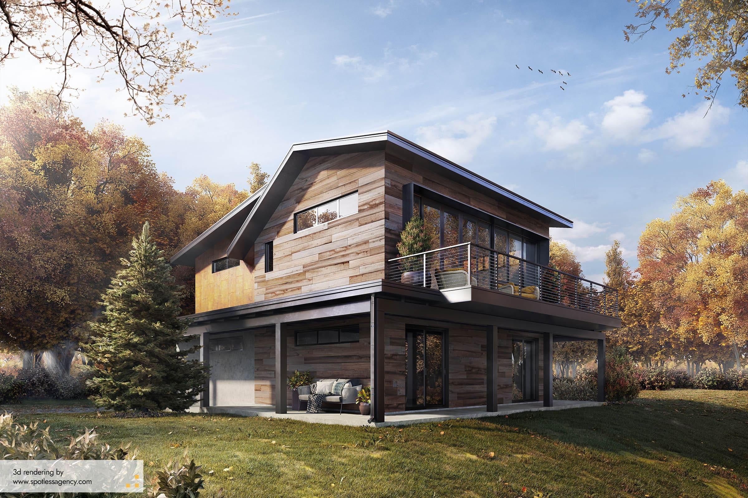 Residential House Renderings 1