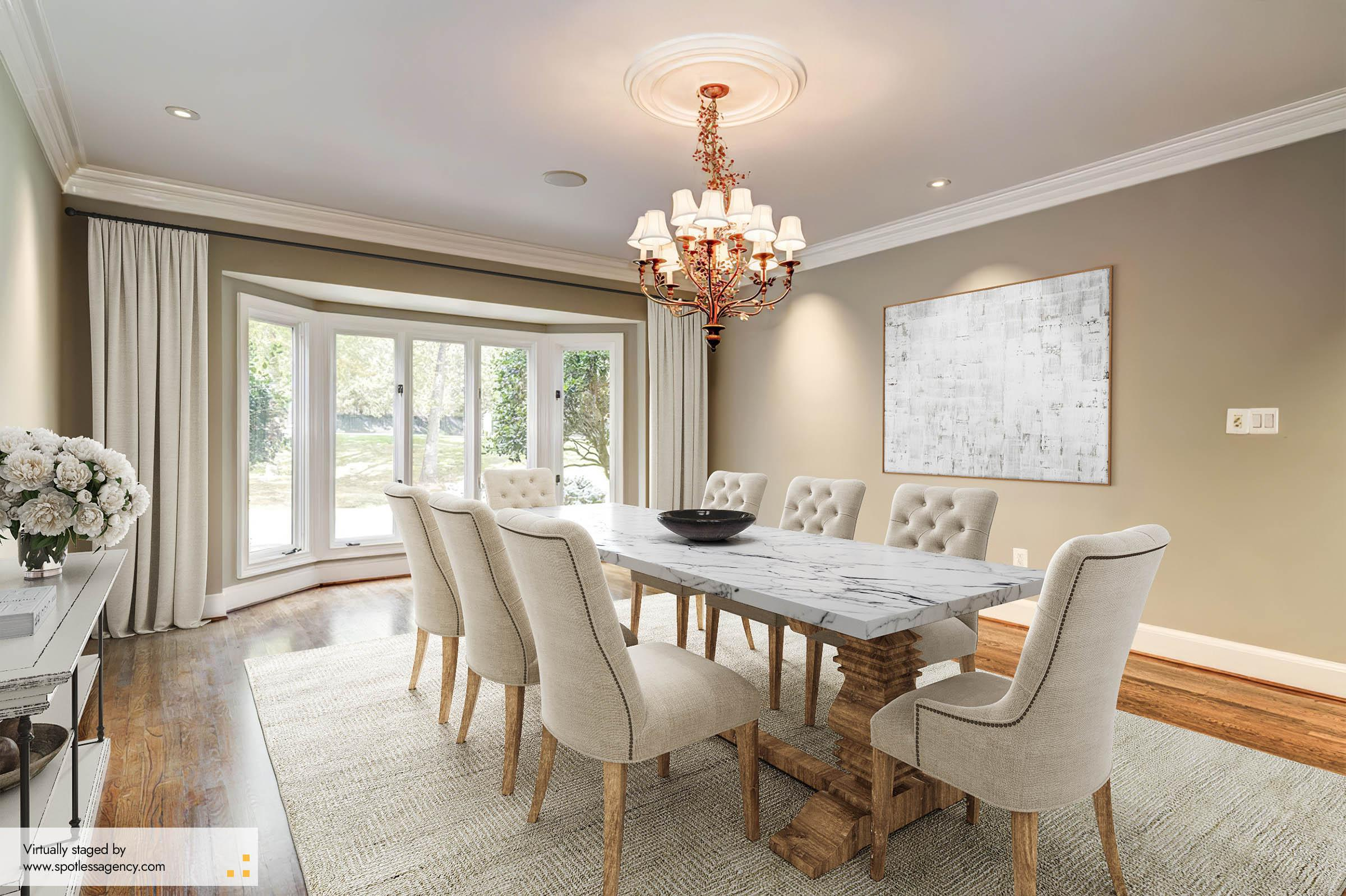 Dining Virtual Staging