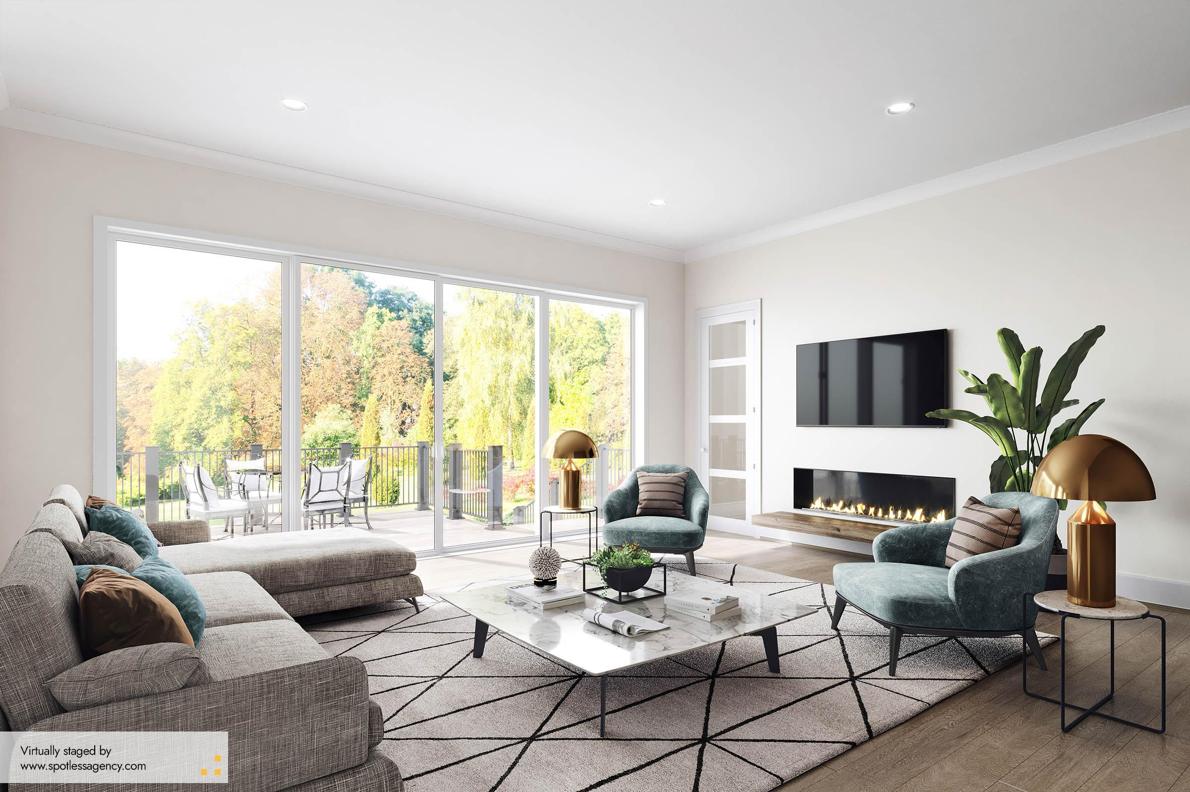 Living Virtual Staging