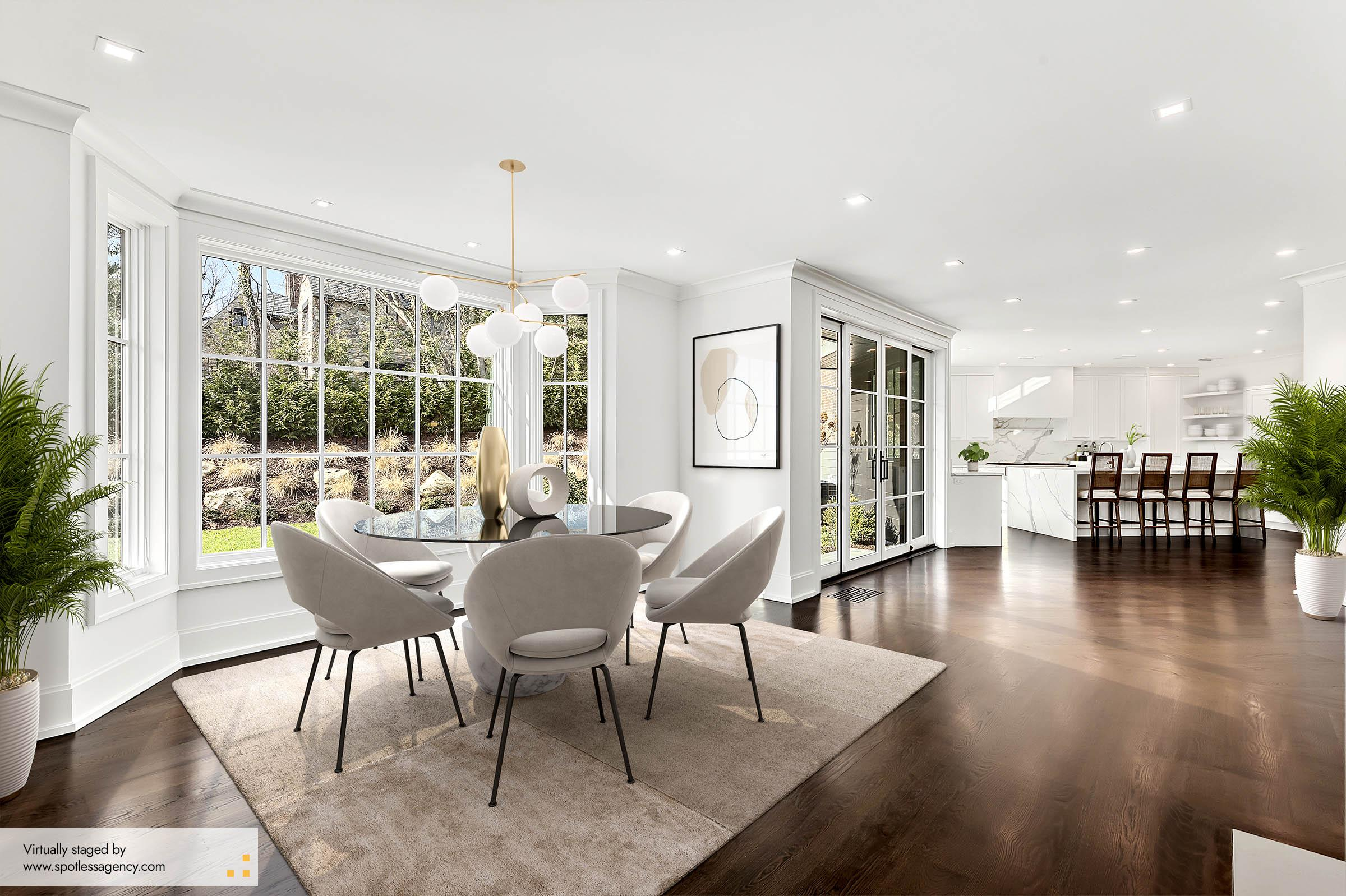 Virtual Staging Contemporary Style