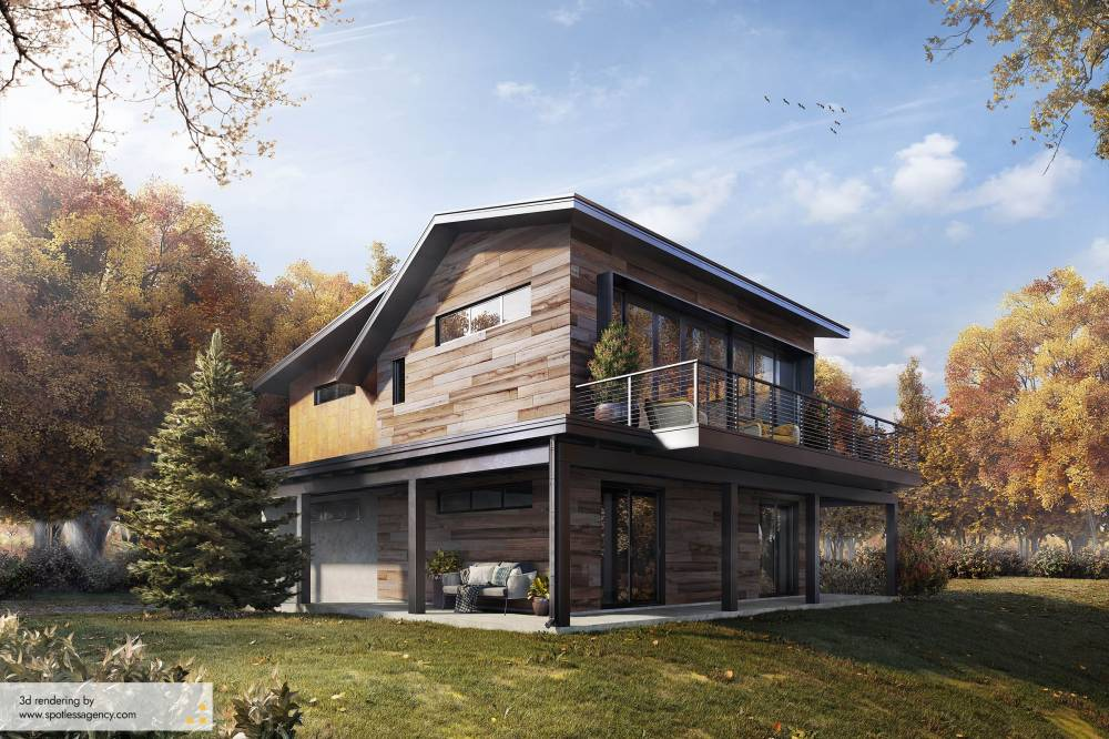 Residential House Renderings