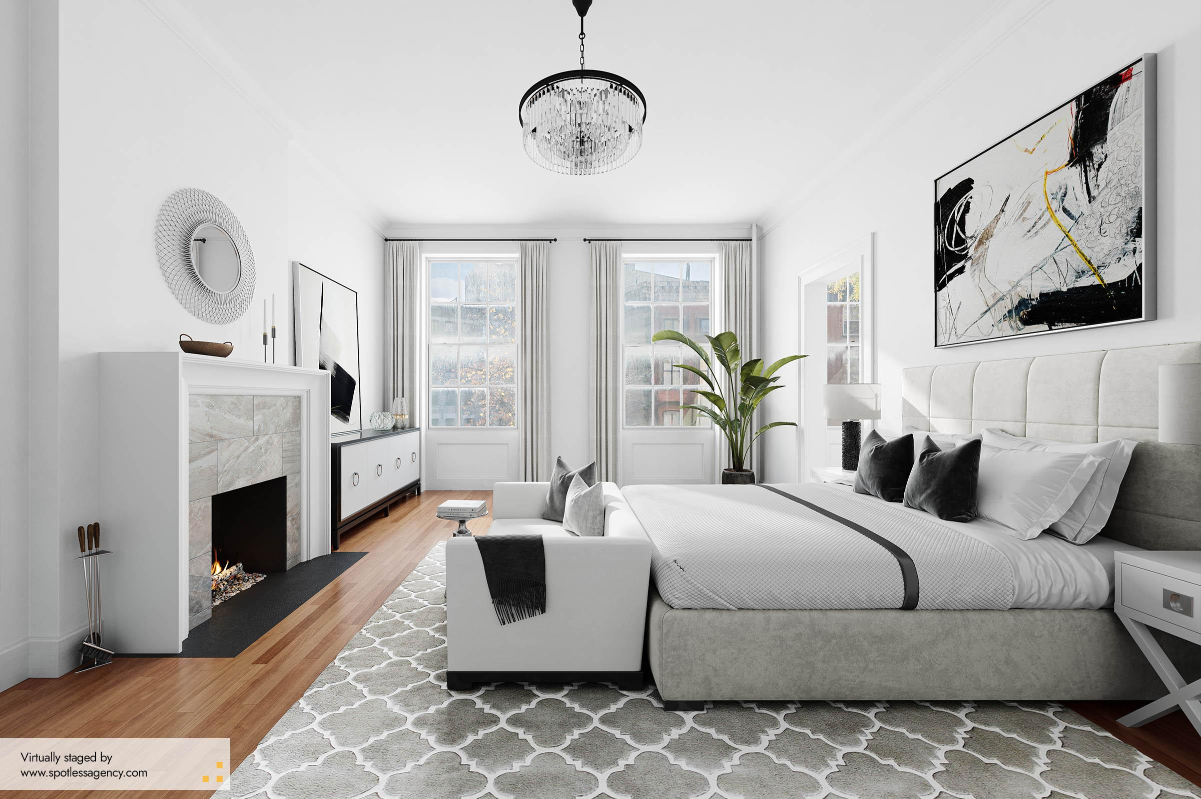 Master-Bedroom Virtual Staging