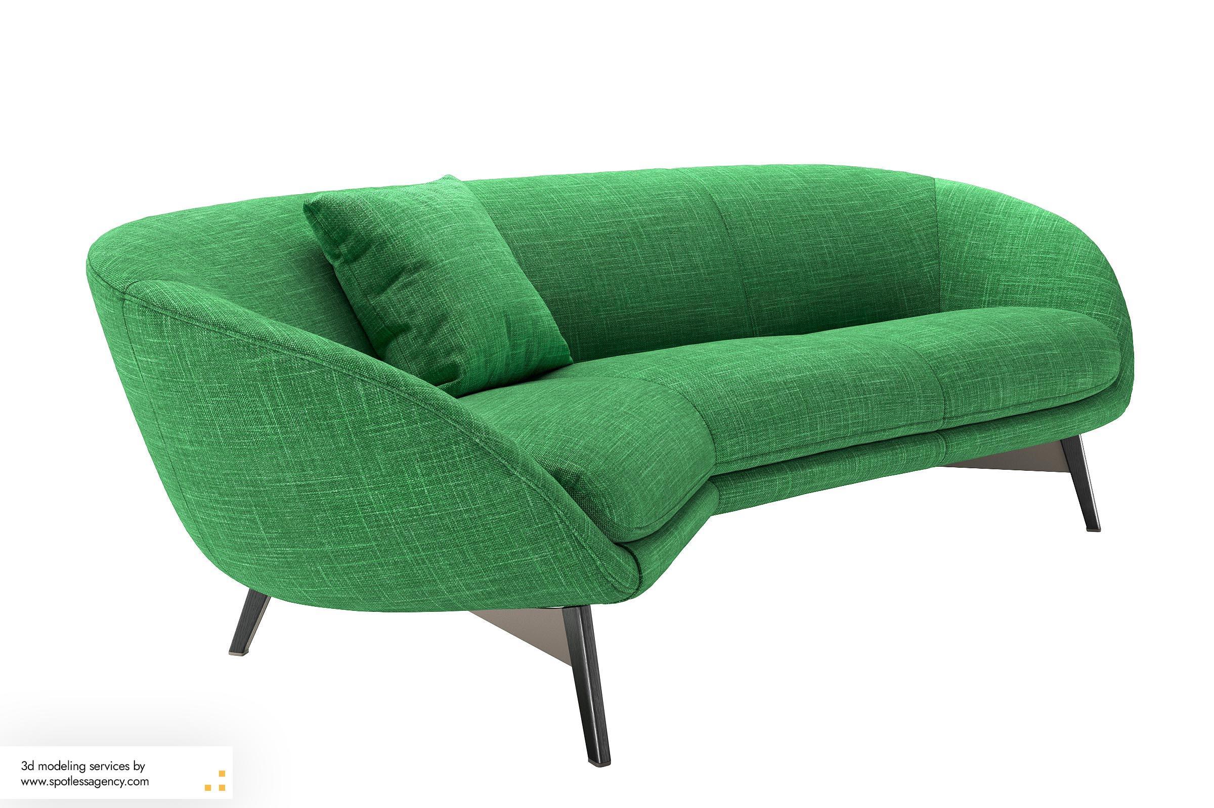 Sofa 3d Model 2
