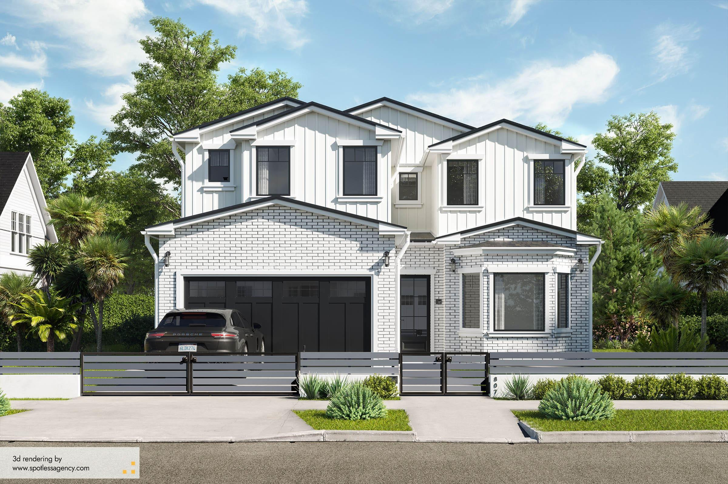 Residential House Renderings 3