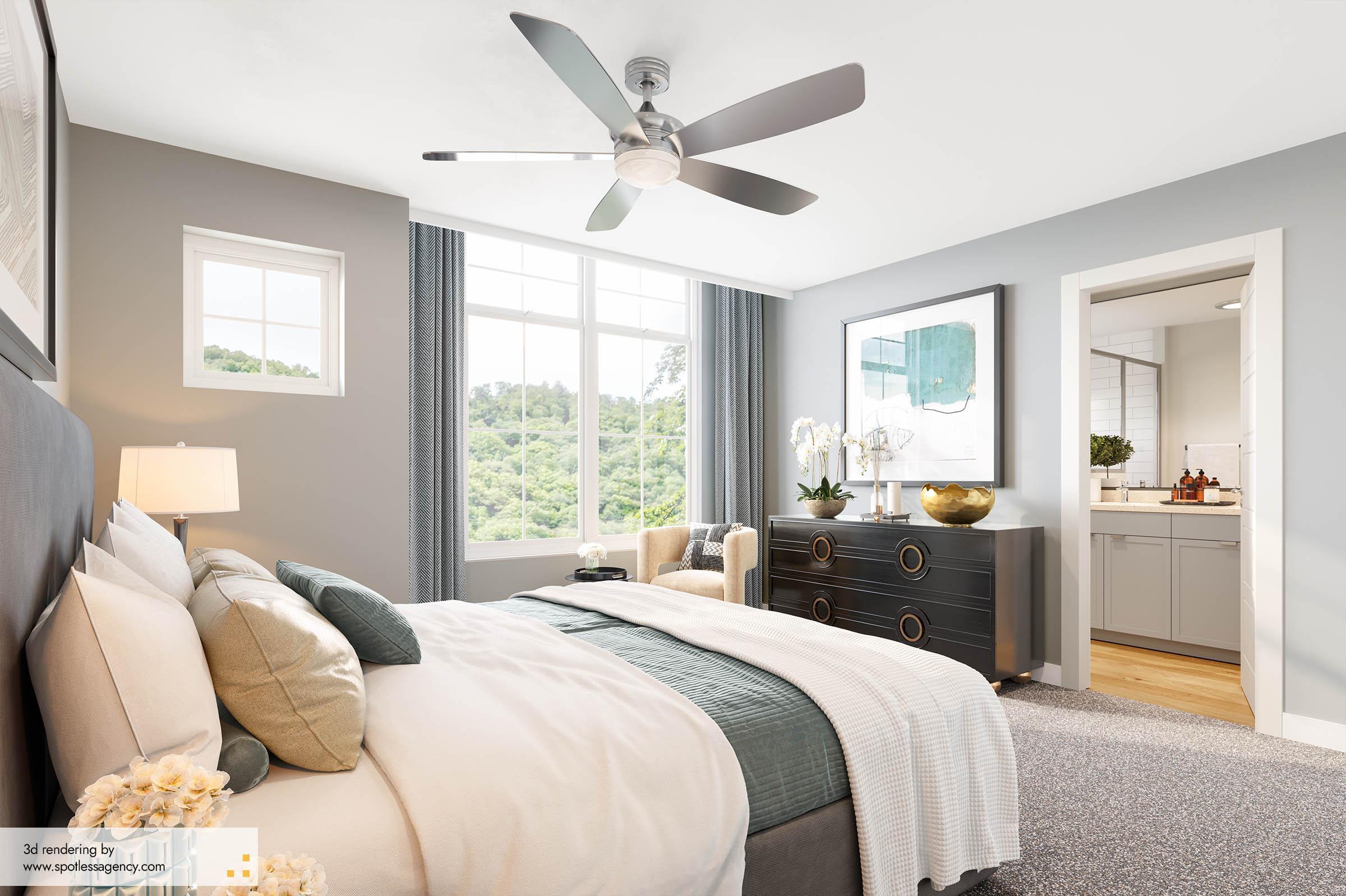 Interior Rendering  Bedroom 5