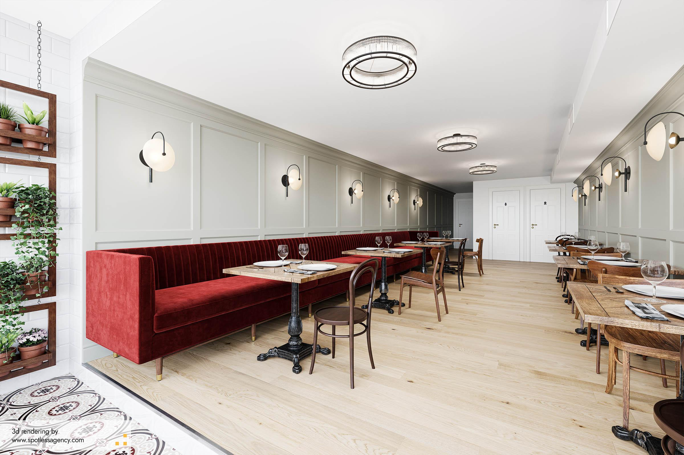 Interior Rendering  Commercial Spaces 2