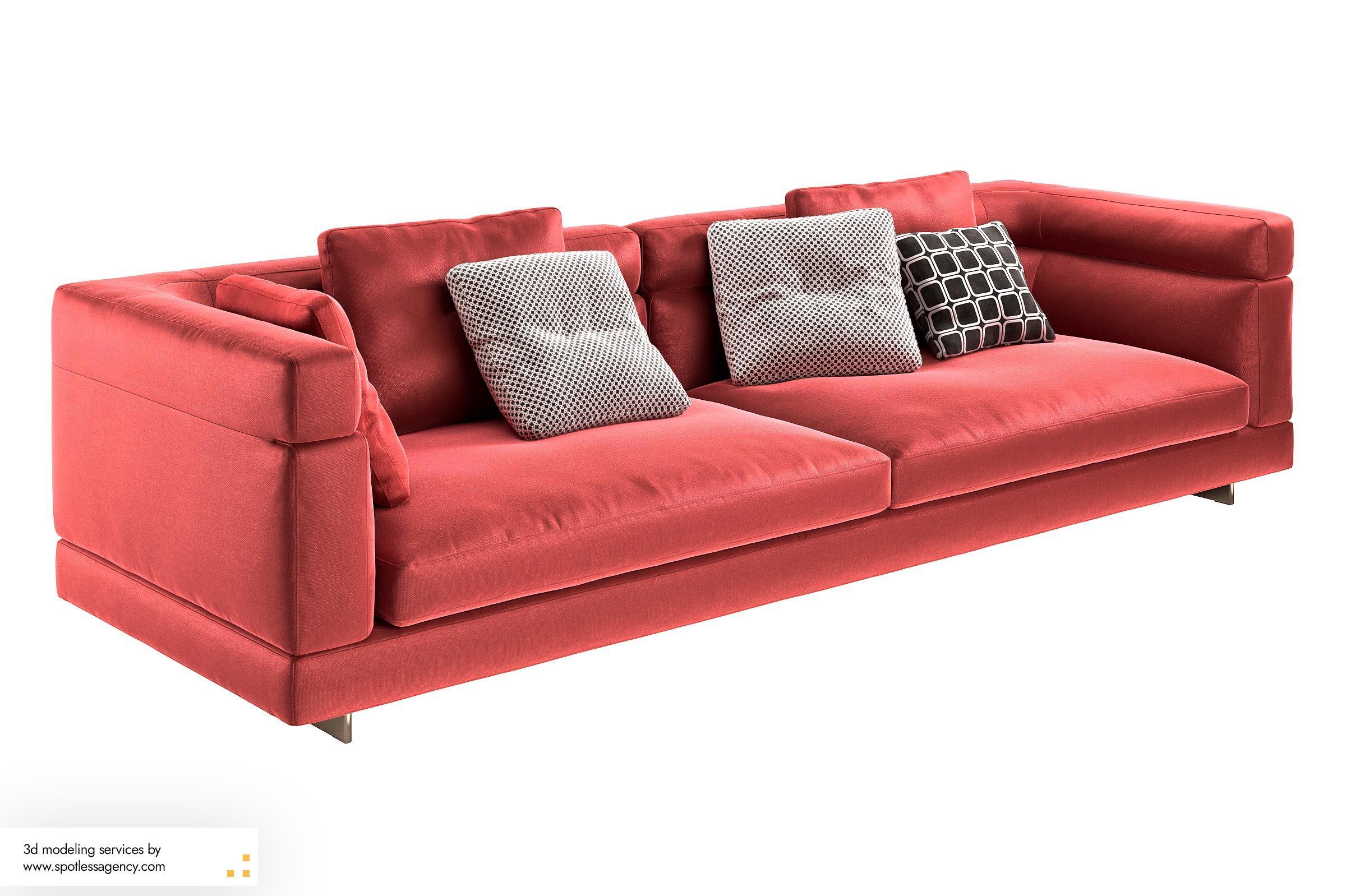 Sofa 3d Model 6