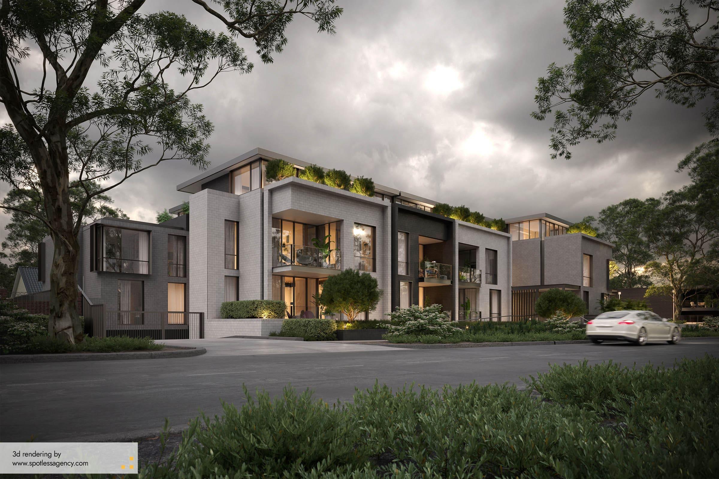 Residential House Renderings 2