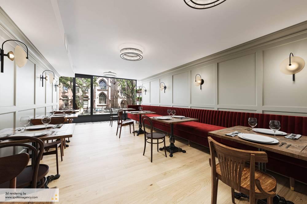 Interior Renderings - Commercial Spaces