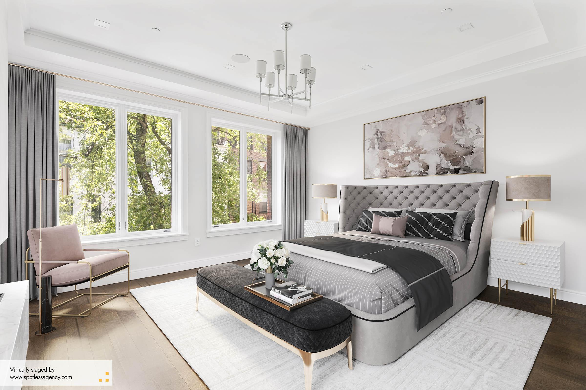 Second-Bedroom Virtual Staging