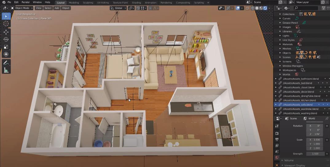 3d floor plan software