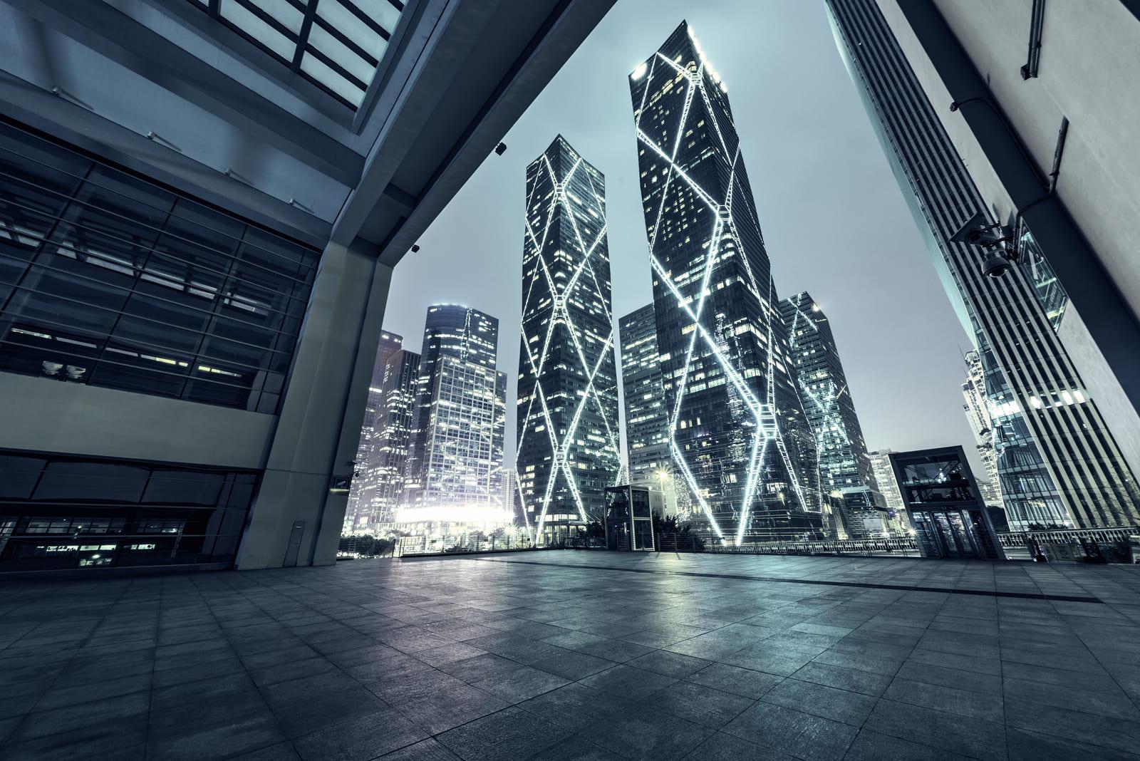 Public architecture feature