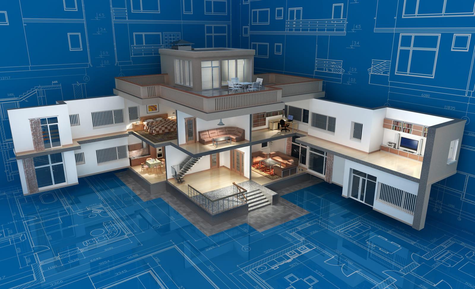 Examples of 3D Floor Plans
