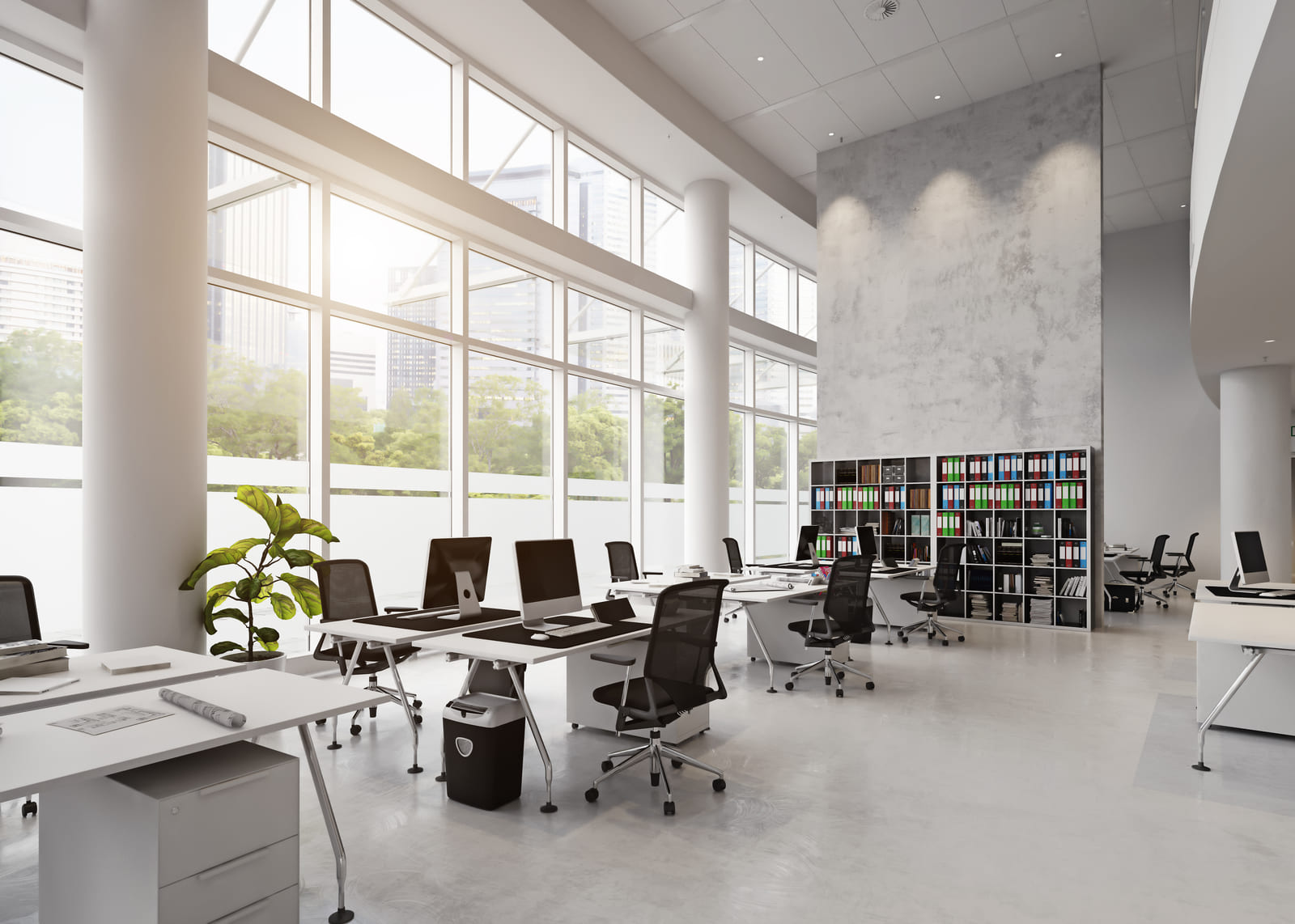 Office design of the future