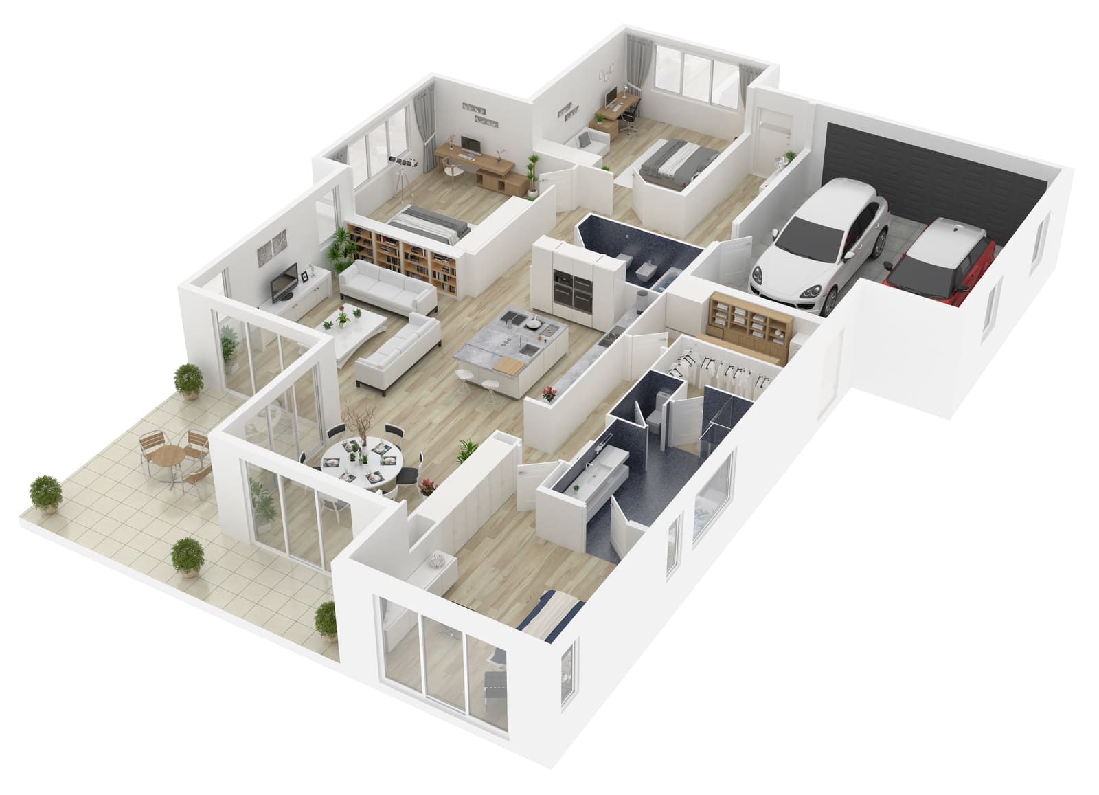 Where are 3D Floor Plans used