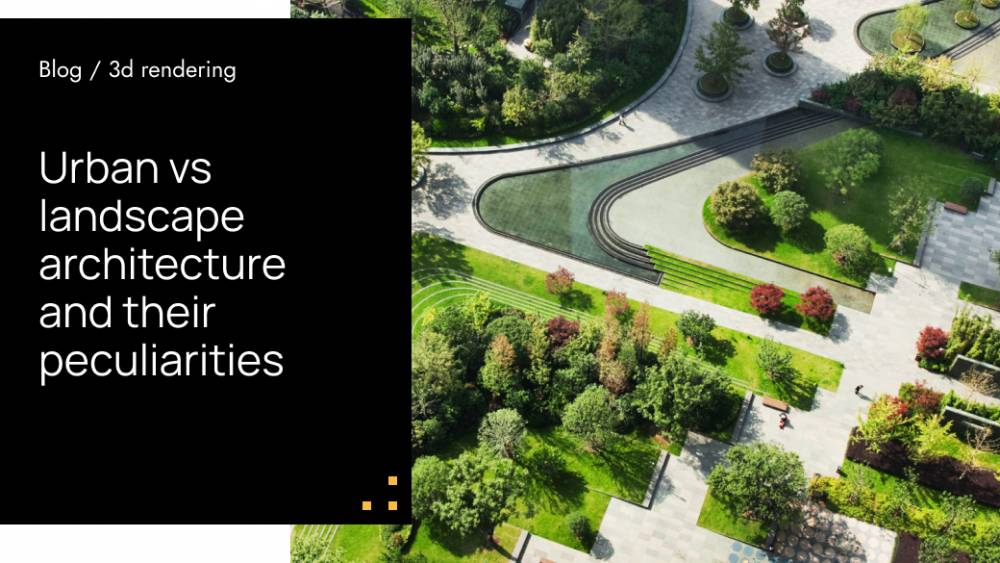 Urban vs Landscape Architecture