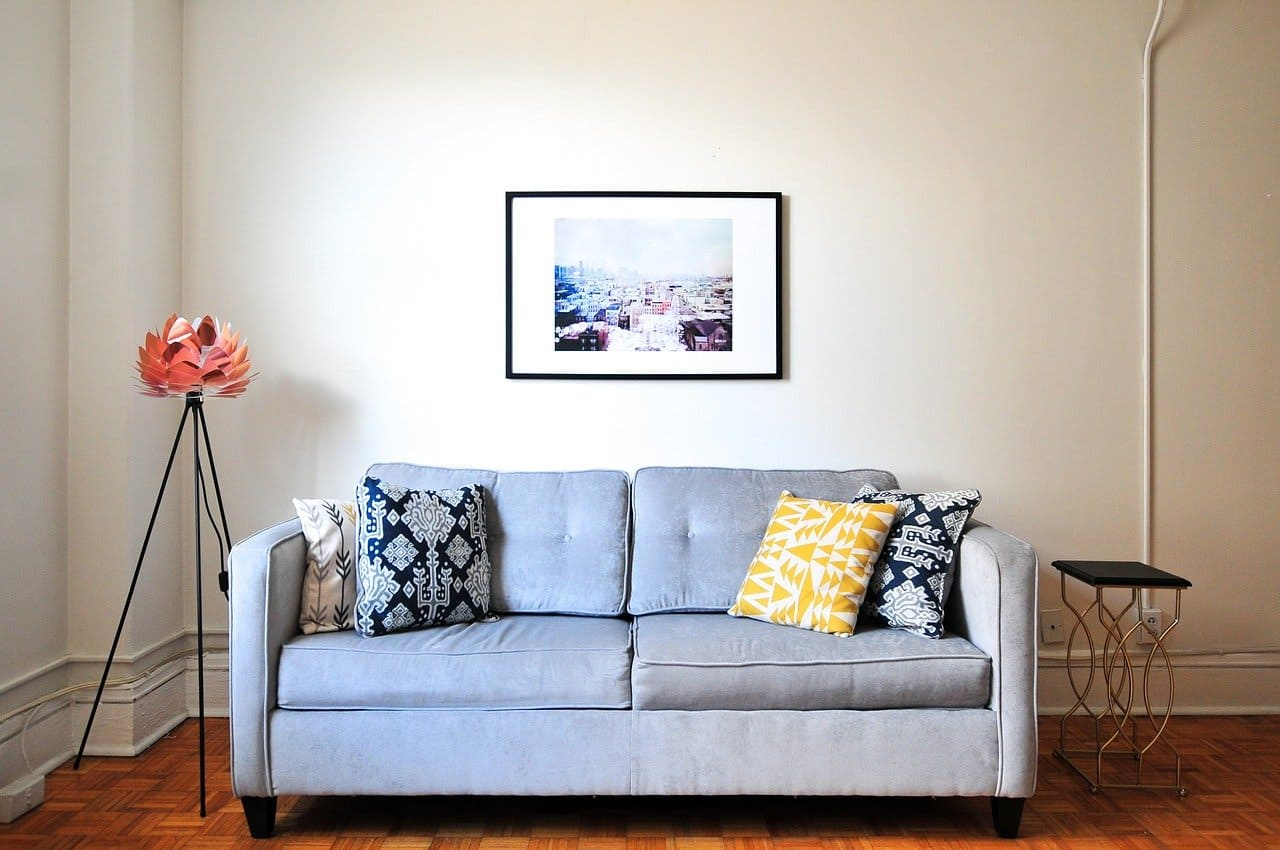 Change pillows on sofas and chairs