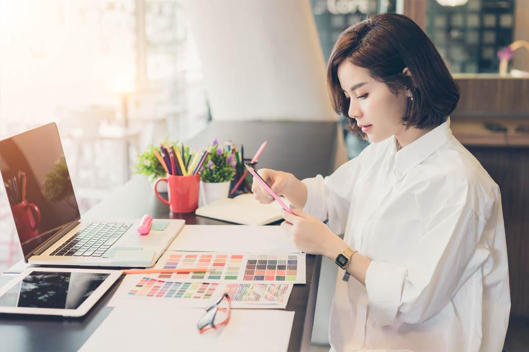 Steps to follow choosing a designer