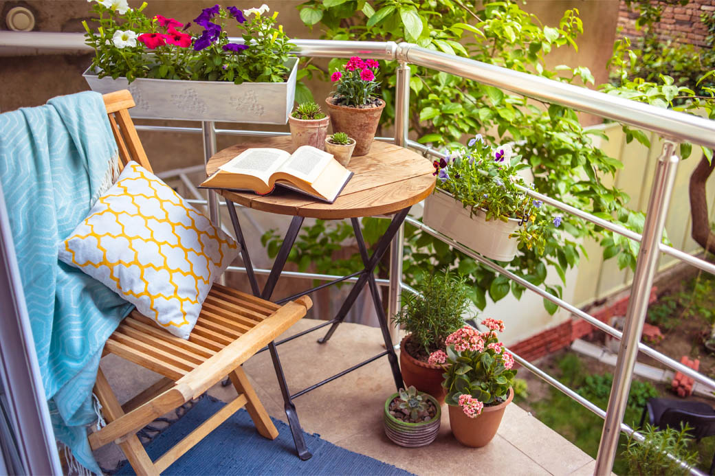 Consider outdoor space to appeal