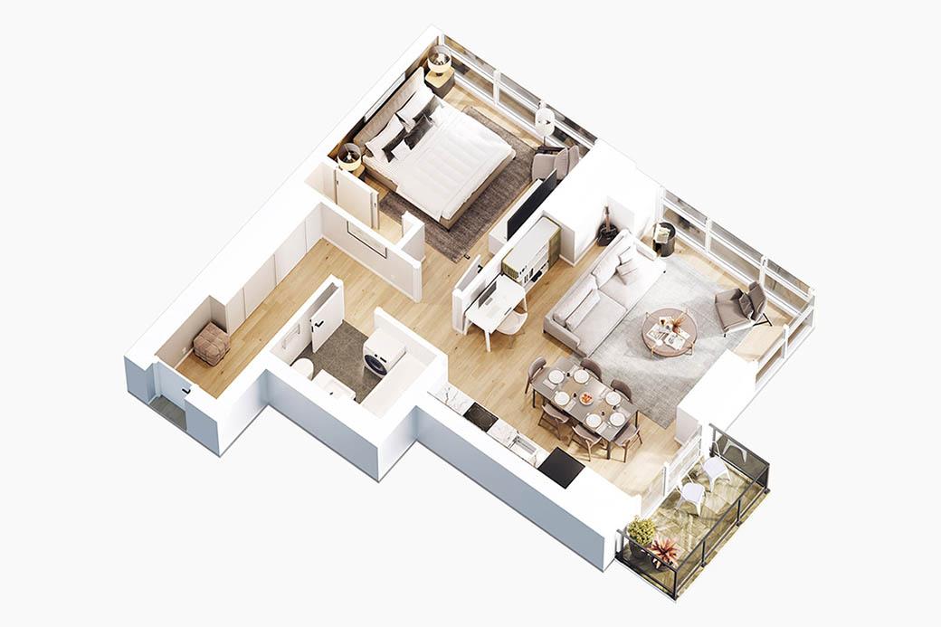 Benefits of 3D floor plan visualization
