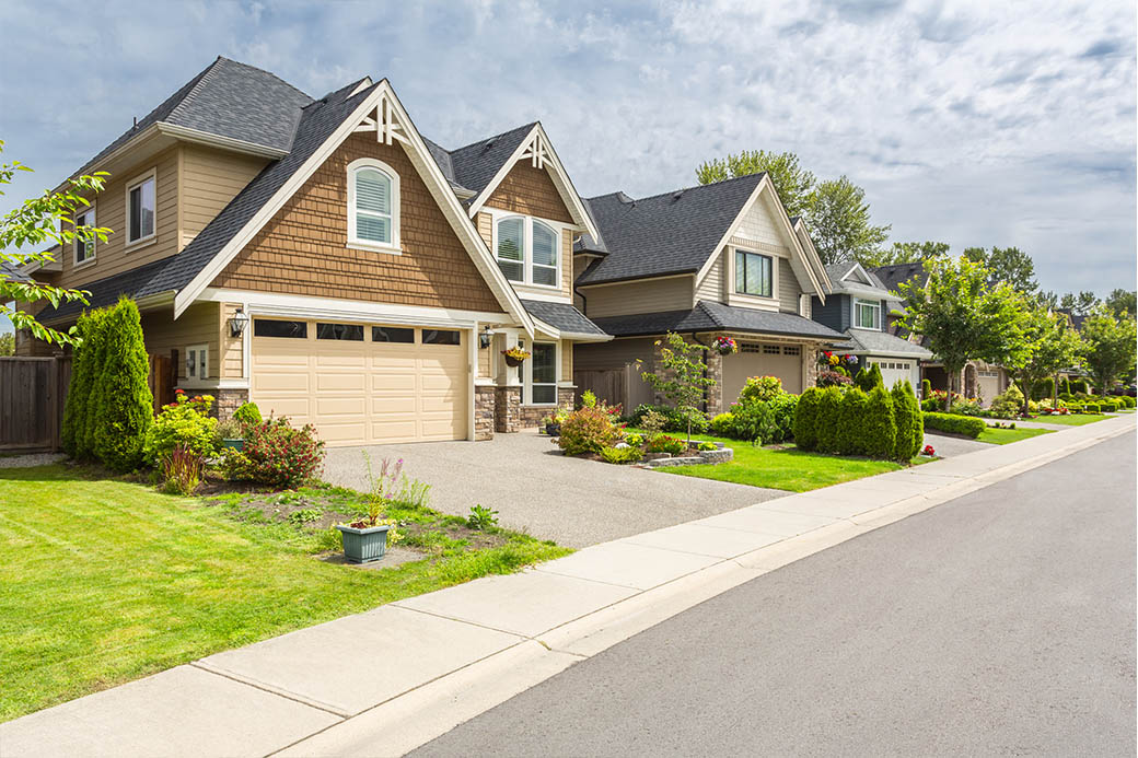 Show neighboring houses