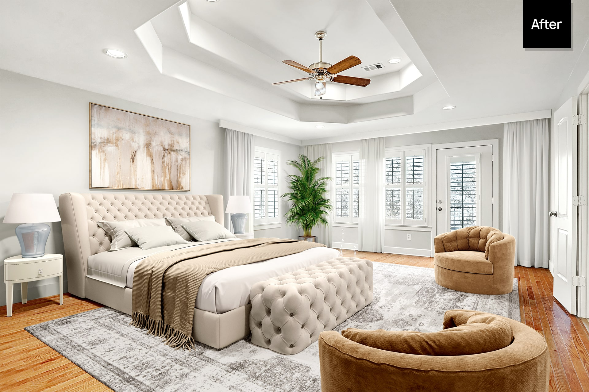 virtual staging after
