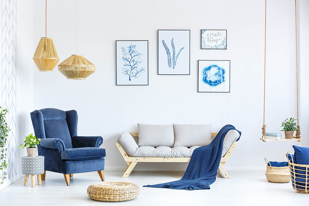 Avoid mismatches in furniture and colors