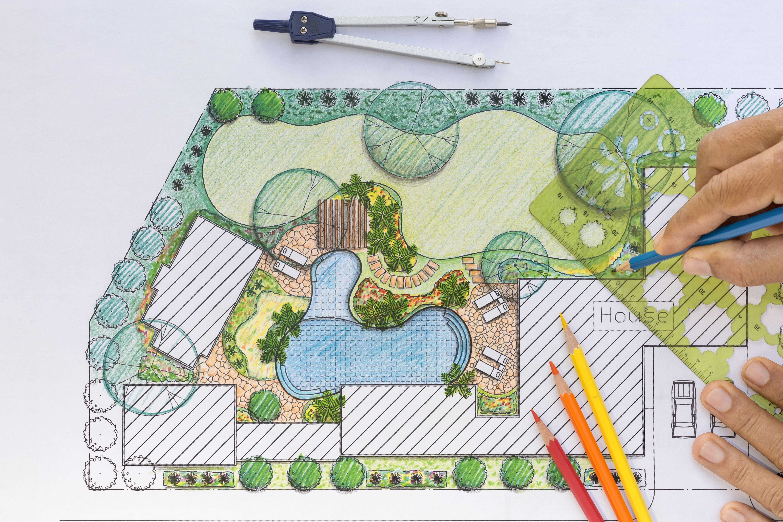 Design of a garden