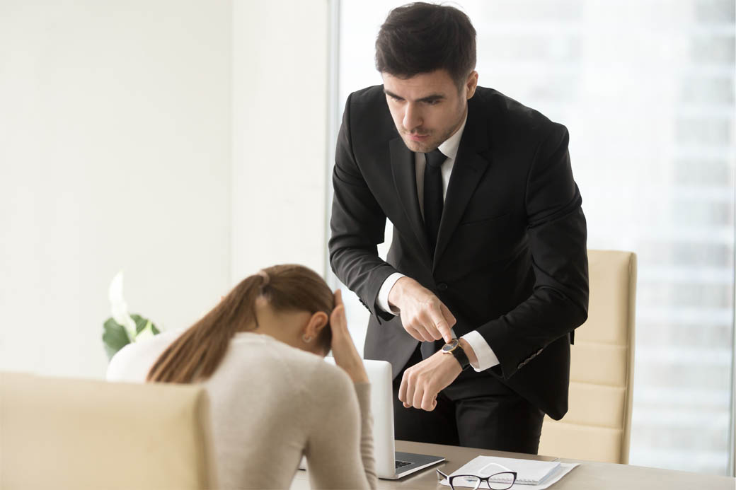 Too persistent sellers that put buyers under time pressure