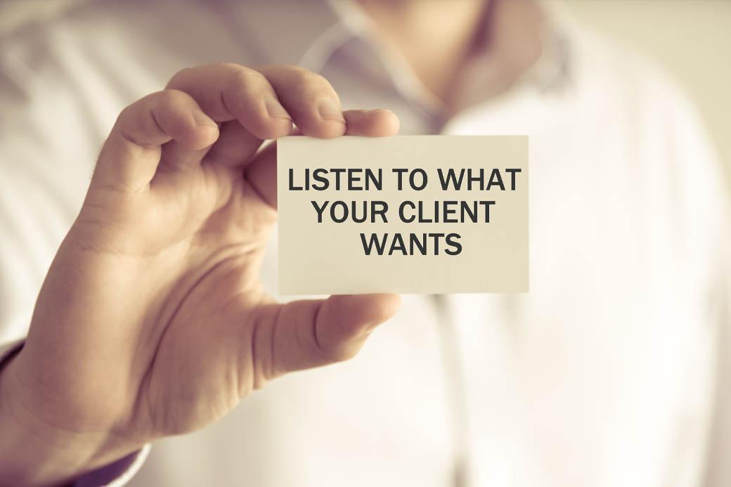 listen client