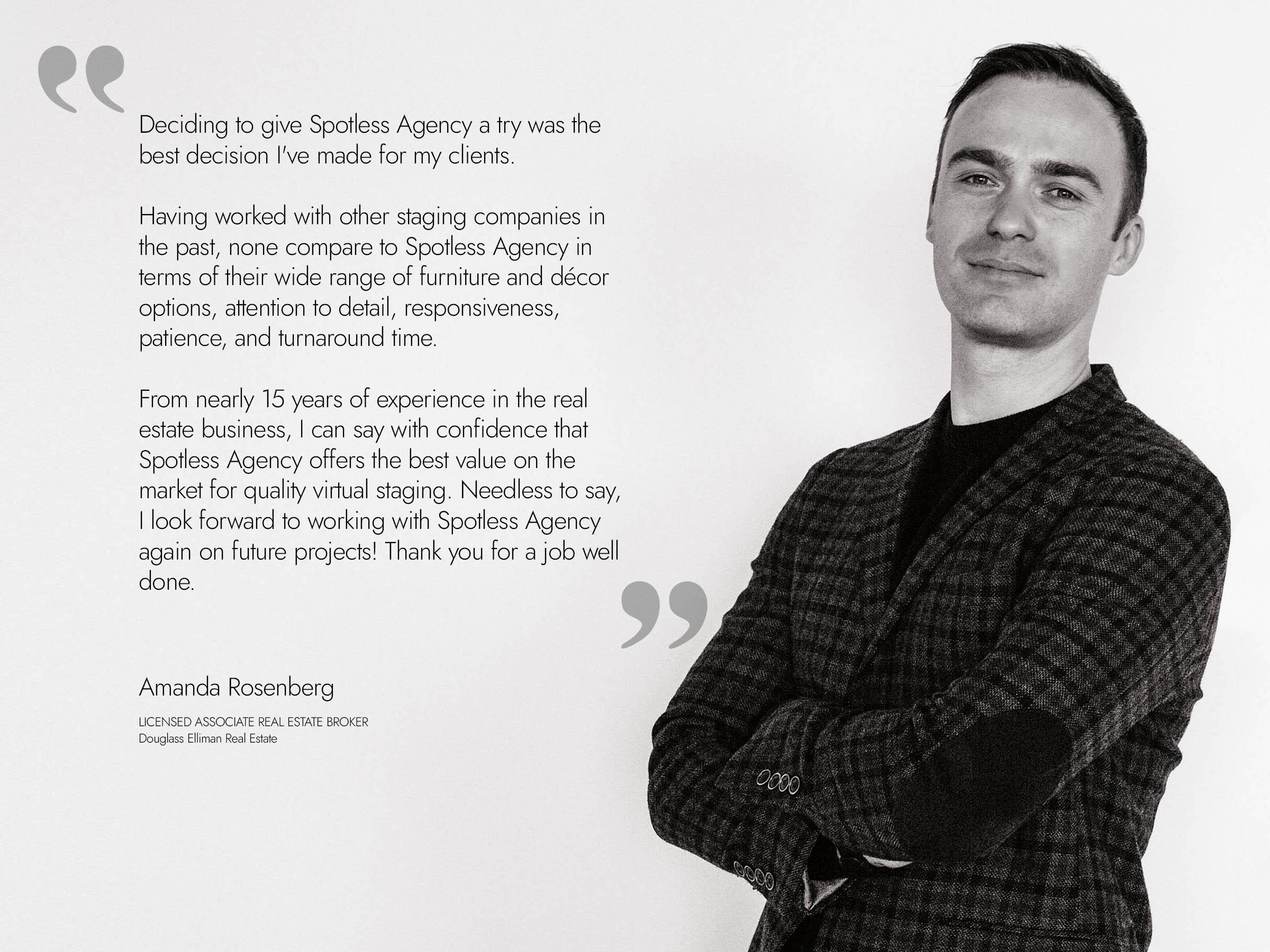 Andrew Zlobin. CEO/Founder of Spotless Agency.