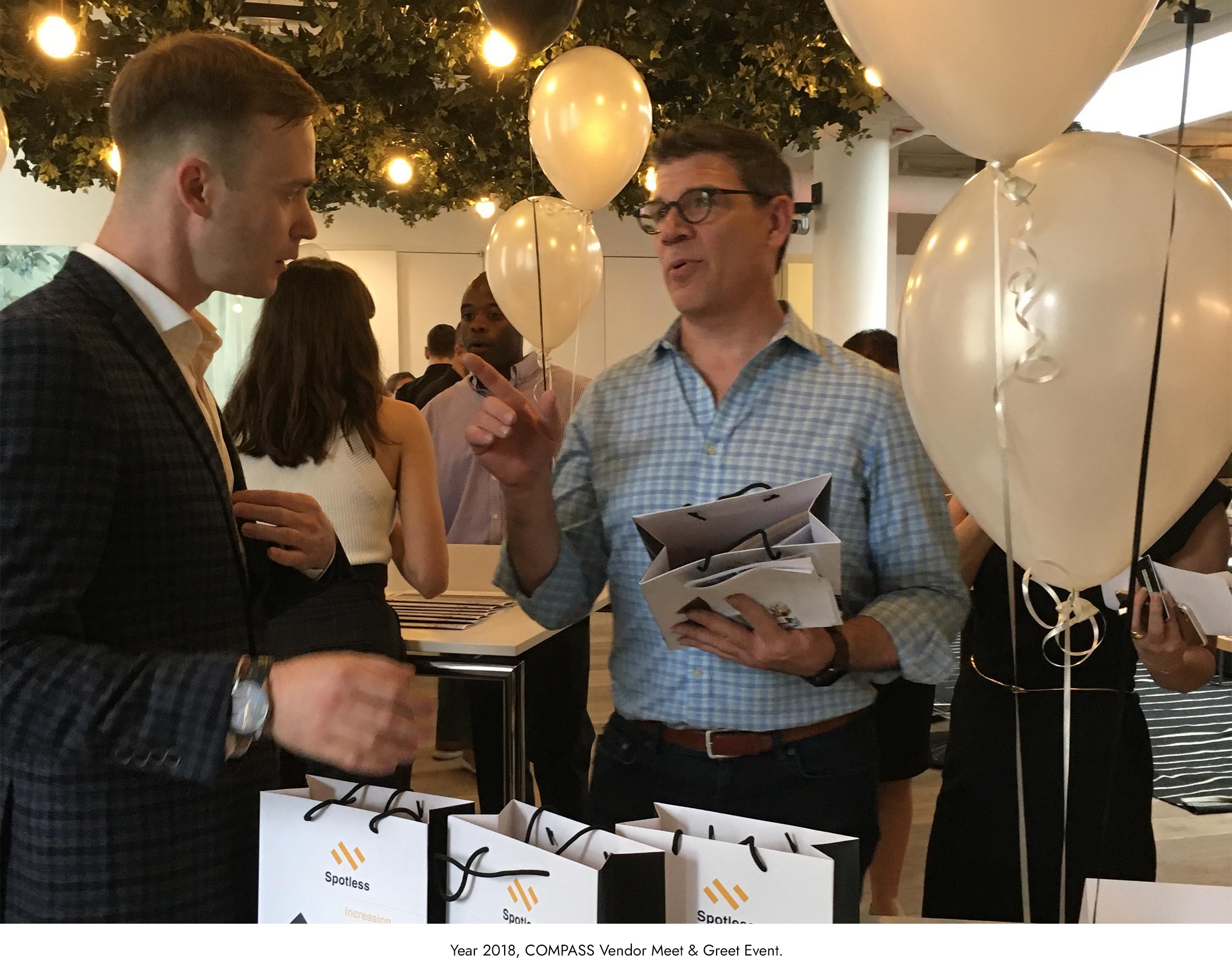 Year 2018, COMPASS Vendor Meet & Greet Event.