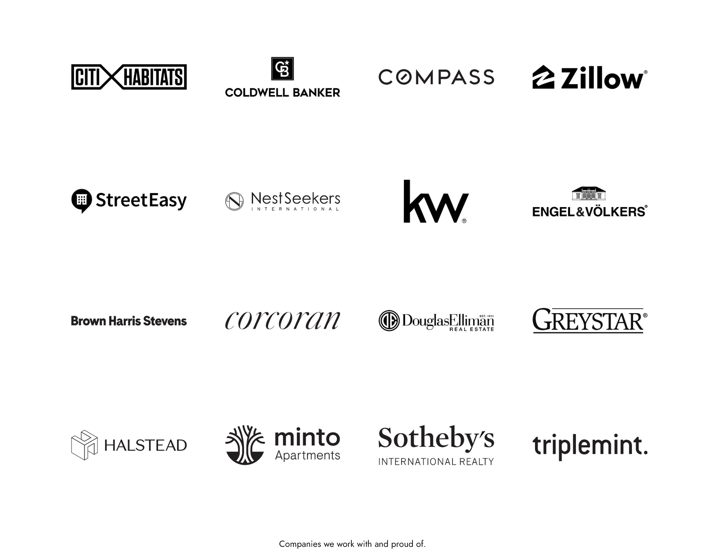 Companies we work with and proud of
